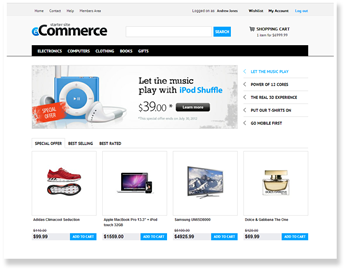 E-commerce site